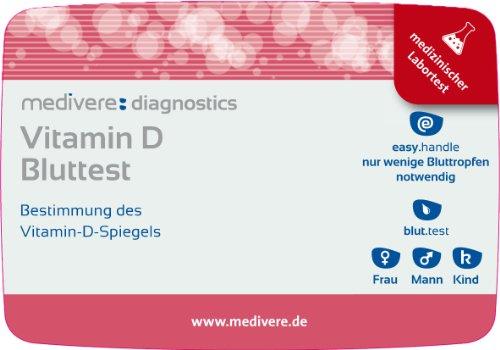 Vitamin D Bluttest Selbsttest für zu HauseMedizinischer Selbsttest