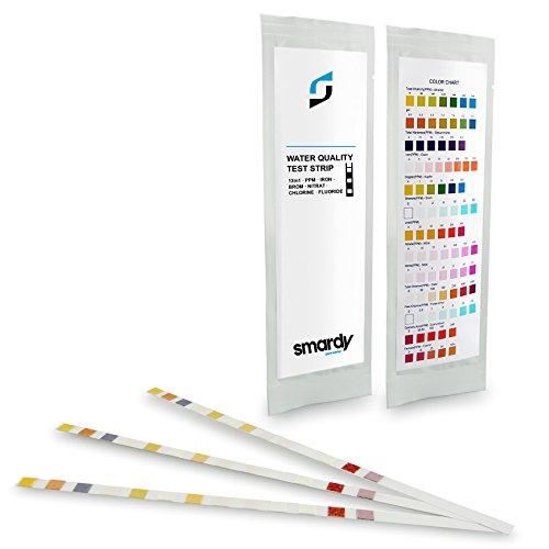 smardy® 3 x 13 IN 1 Wassertest Set für Trinkwasser - Aquarium Schnelltest - Medizinischer ...