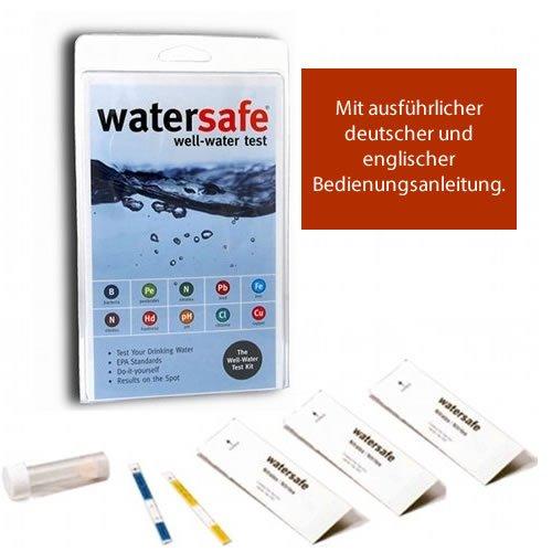 Watersafe Trinkwasser WassertestMedizinischer Selbsttest